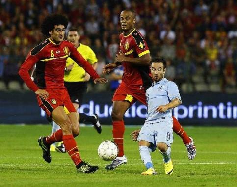 België kleineert de tegenstand